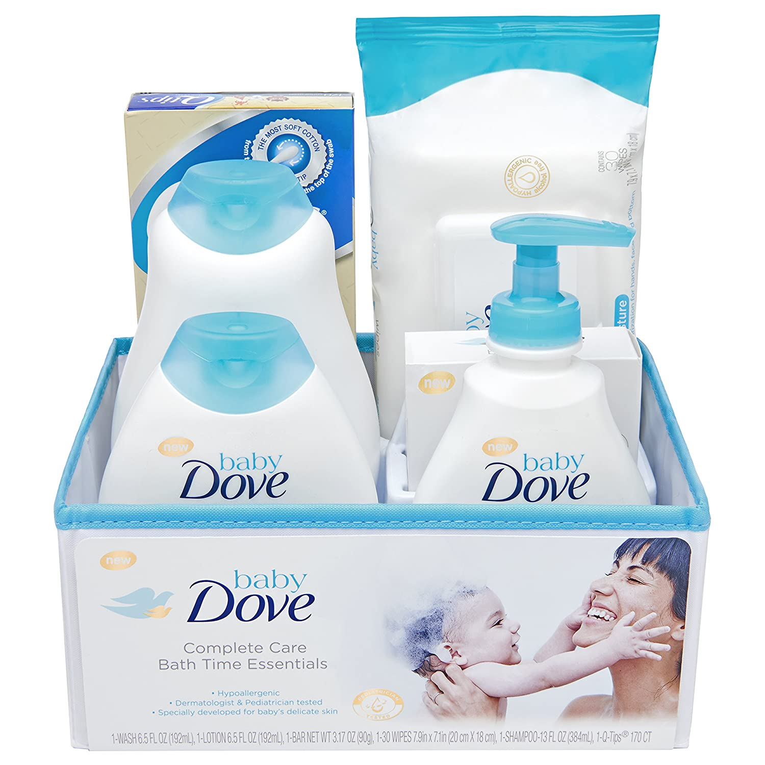 Amazon.com : Baby Dove Complete Care Bath Time Essentials, Gift Set ...