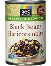 365 Everyday Value Organic Black Beans, 410ml (13.9 fl oz)