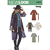 New Look Pattern 6476 Misses' Easy Kimono with