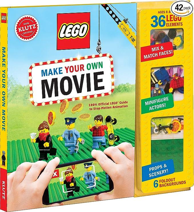 Amazon Klutz Lego Make Your Own Movie Kit Klutz Toys Games