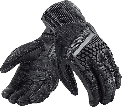 MotorX Motorrad-Handschuhe Sommer Schwarz Gr/ö/ße S