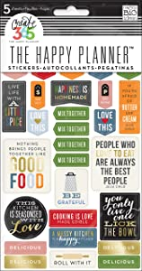 me & my BIG ideas Good Food Planner Stickers