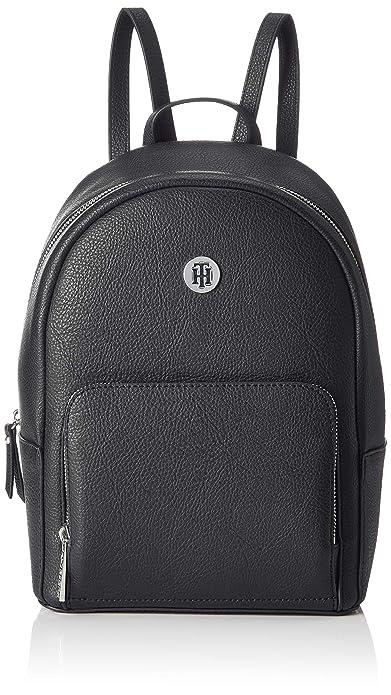 417b3d7cbf Tommy Hilfiger Th Core Backpack, Women's Black (Black & Warm Sand), 12x21x27