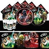 Kit de fête Star Wars heros & vilains pour 16 personnes