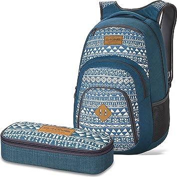 Dakine 2 Unidades Laptop Mochila Campus LG + School Case Estuche Mako: Amazon.es: Equipaje