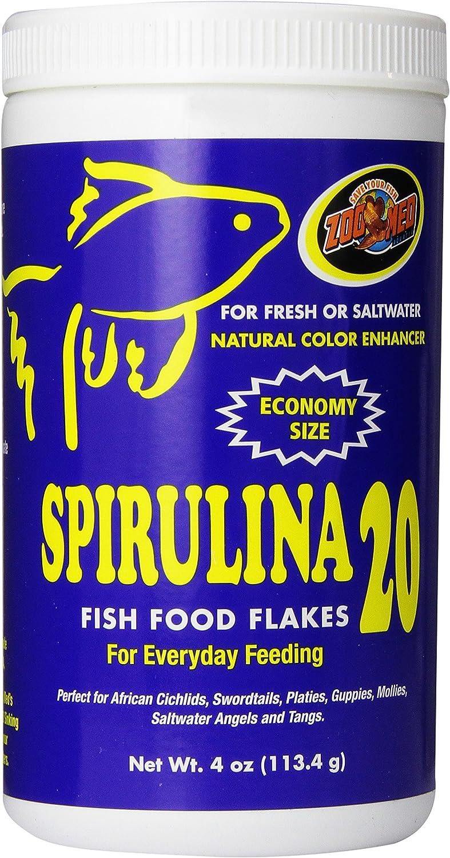 Zoo Med Spirulina 20 African Cichlid Food