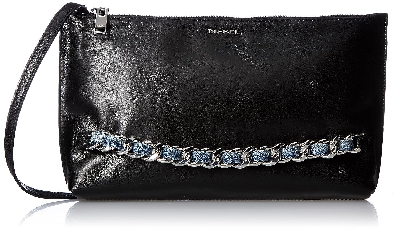 (ディーゼル) DIESEL WIND OF CHAIN KHINNY handbag X05198PR516 B0772R65LJブラック UNI (Free)