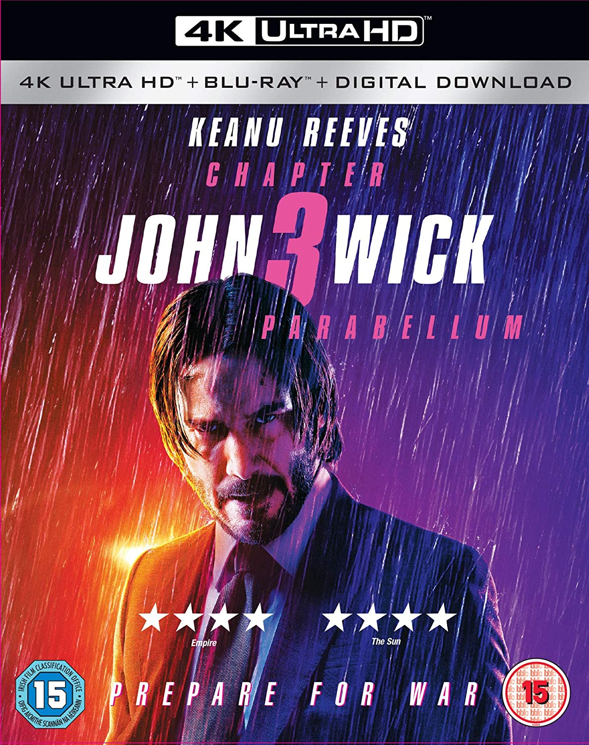 John Wick: Chapter 3 - Parabellum 4K Blu-ray 2019: Amazon.co.uk ...