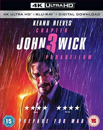 John Wick: Chapter 3 - Parabellum 4K Blu-ray 2019: Amazon co