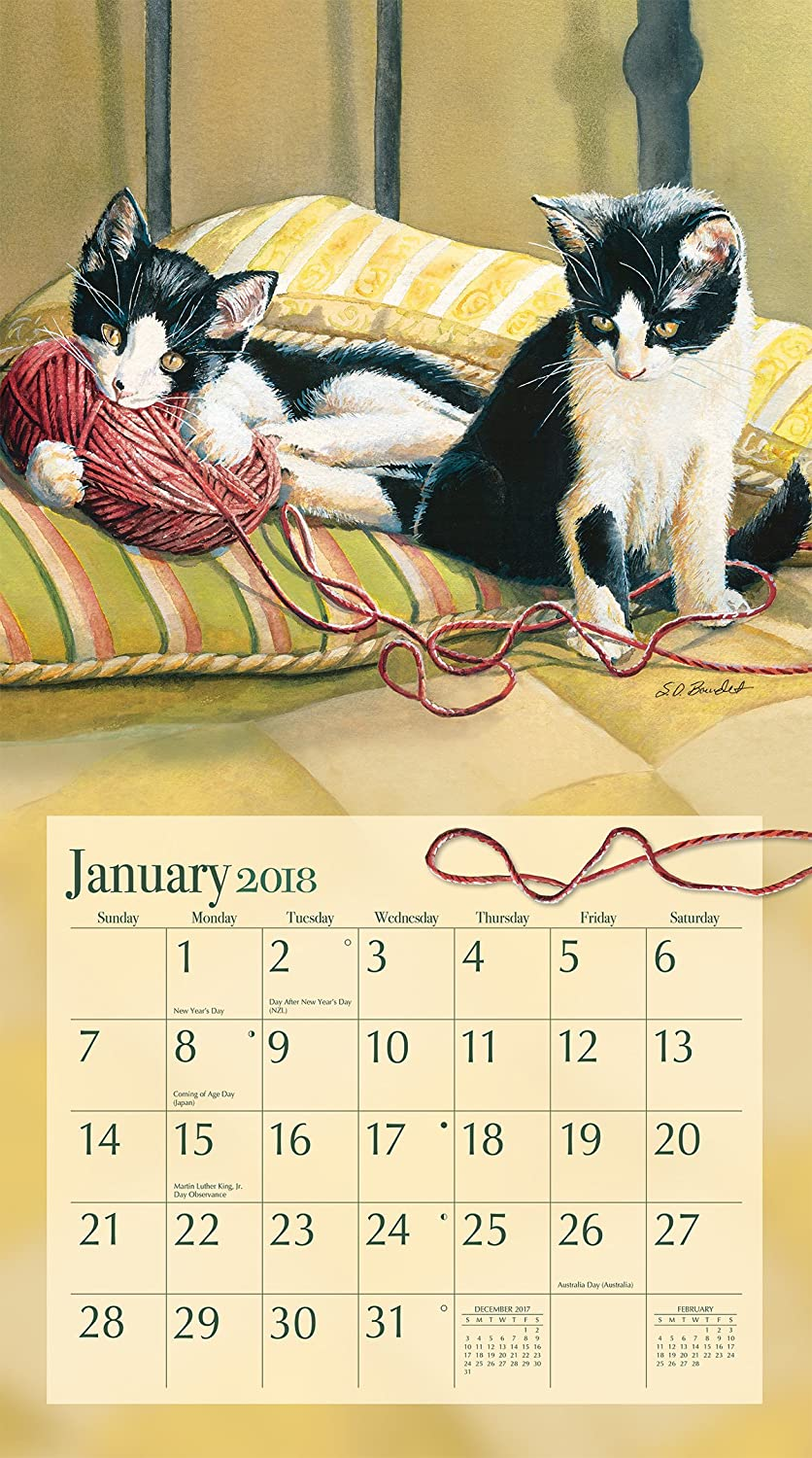 Amazon.com : LANG - 2018 Wall Calendar - \