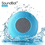 Amazon Price History for:SoundBot SB510 HD Water Resistant Bluetooth 3.0 Shower Speaker, Handsfree Portable Speakerphone with Built-in Mic, 6hrs of playtime, Control Buttons and Dedicated Suction Cup (Blue)