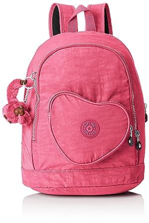 Kipling HEART BACKPACK Mochila para Niños, Carmine Pink (Rosa): Amazon.es: Equipaje