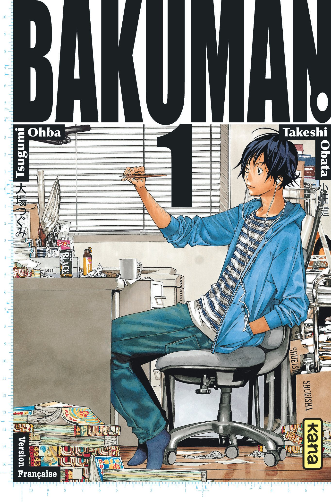 Amazon.fr - Bakuman, tome 1 - Tsugumi Ohba, Takeshi Obata - Livres