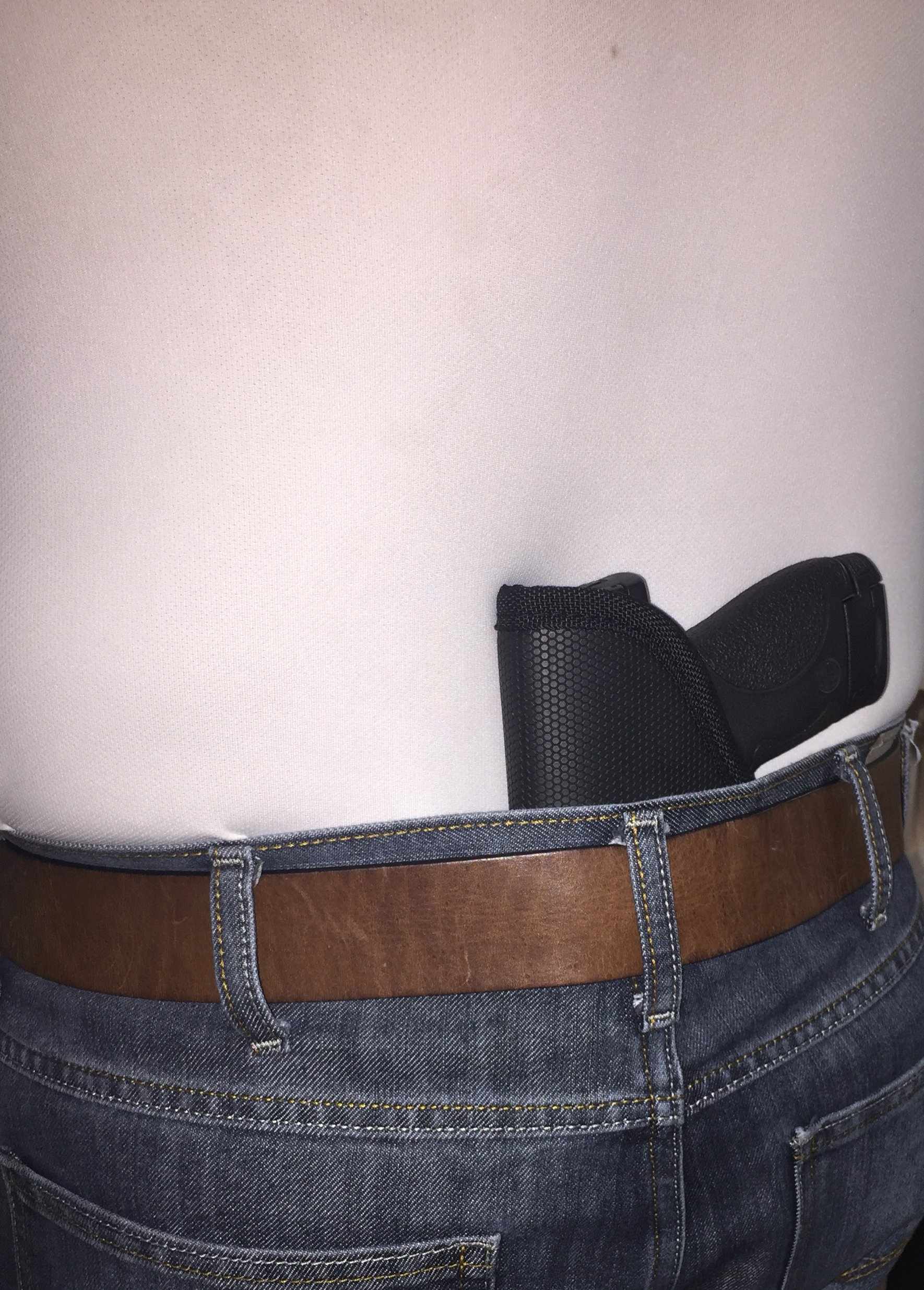 Pro-Tech Outdoors GRIPPER Concealed Inside The Paints Gun Holster For All small frame 380