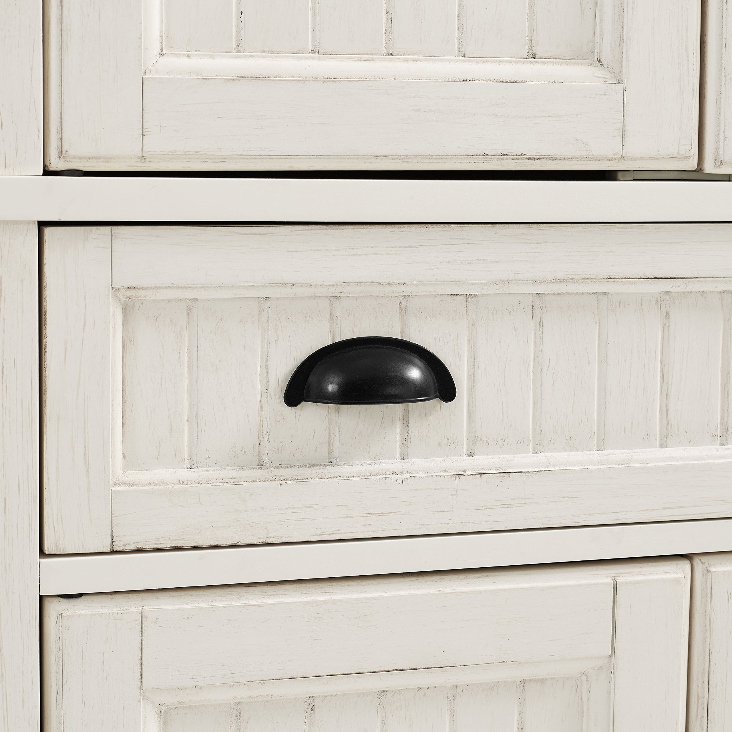 Crosley Furniture Seaside Kitchen Pantry Cabinet - Distressed White by Crosley Furniture (Image #9)