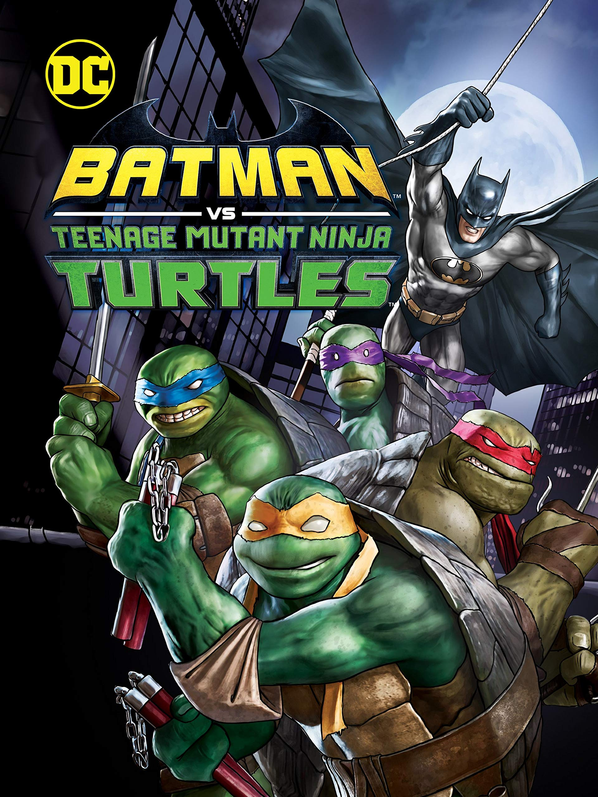 Amazon.com: Batman vs. Teenage Mutant Ninja Turtles: Troy ...