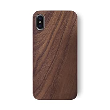 IPhone X Case IATO GOODWOOD Real WOODEN Premium Protective Cover Unique Stylish