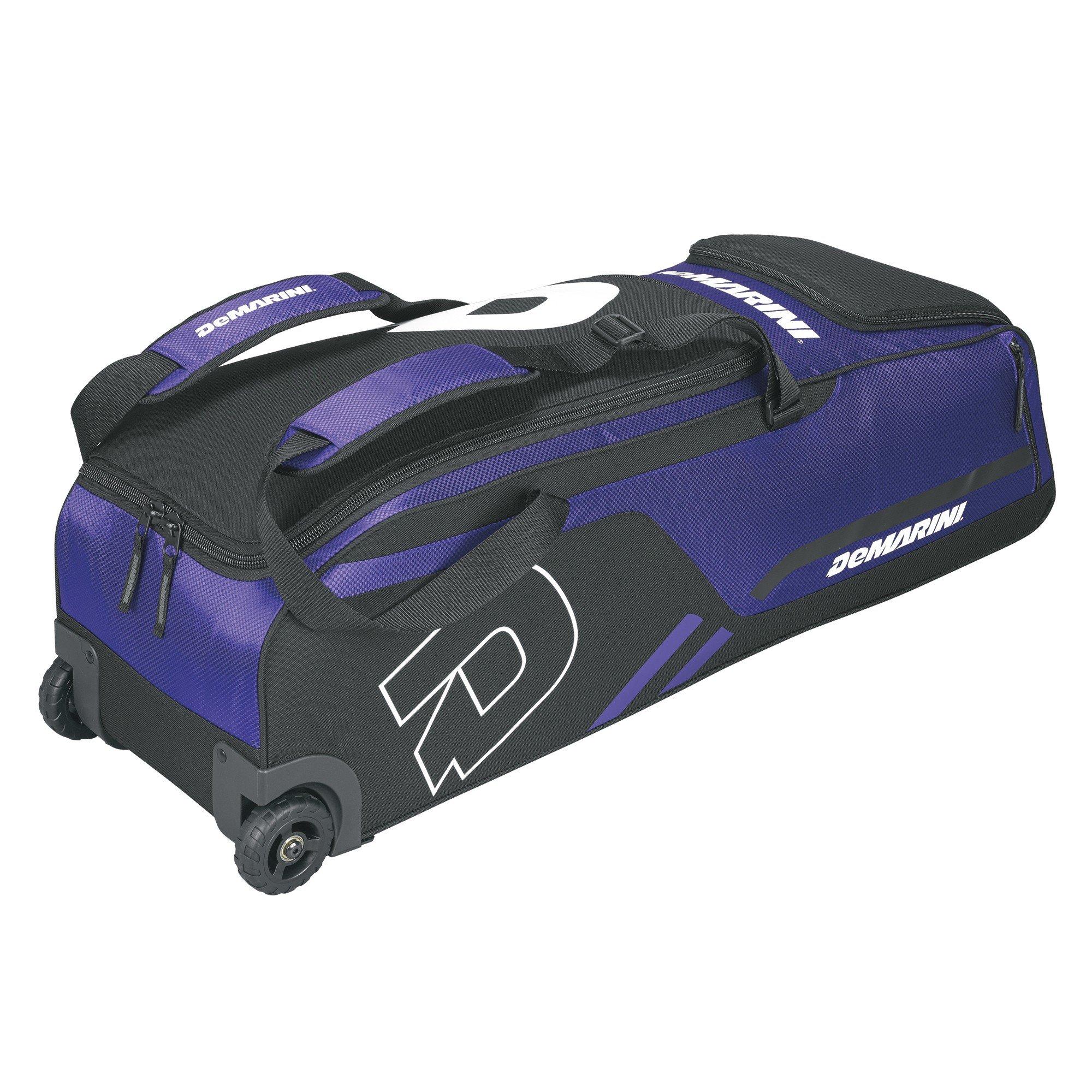 DeMarini Momentum Wheeled Bag, Purple by DeMarini