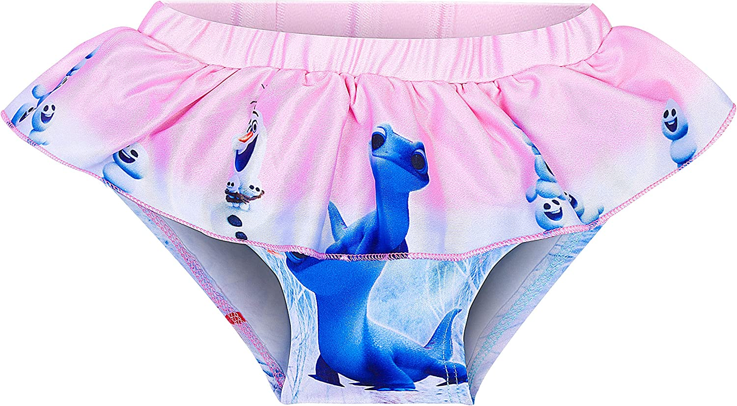 Girls Princess Swimsuit Cute Swimming 2PCS Swimwear Pool Beach Holiday Bathing Suit for Girls Gifts 3-8Y Blue Pink