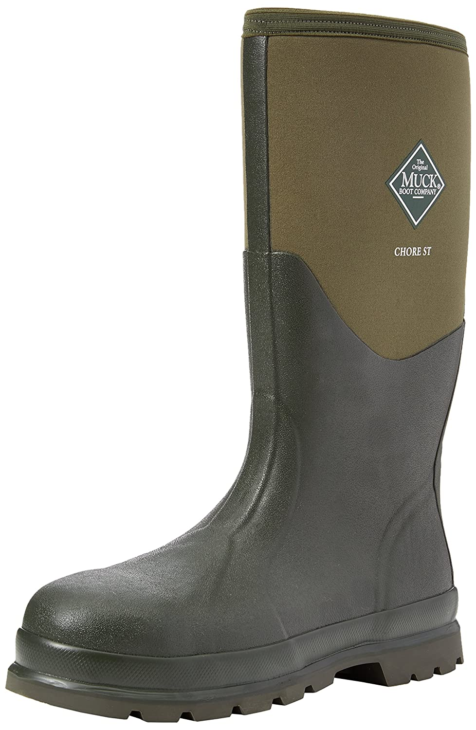 b62cc8f34d7 Muck Boots Unisex Adults' Chore Steel Toe Safety Wellingtons