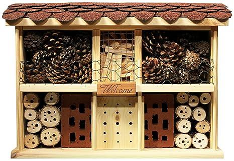Luxus-Insektenhotels Hoteles de insecto de lujo, kit de casa de insecto, práctico