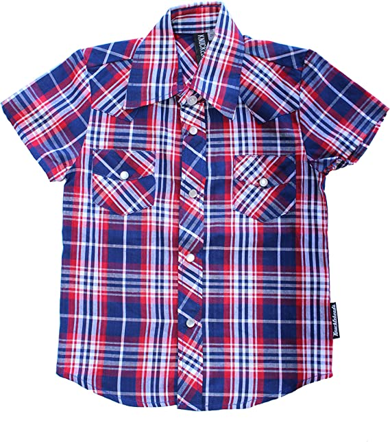 Knuckleheads Rockabilly Button Down Plaid Flannel Shirts