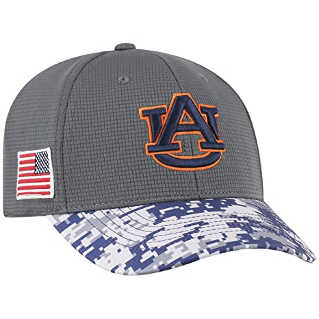 free shipping ed267 6e799 Top of the World NCAA Salute to USA Military -One-Fit Camo Hat Cap