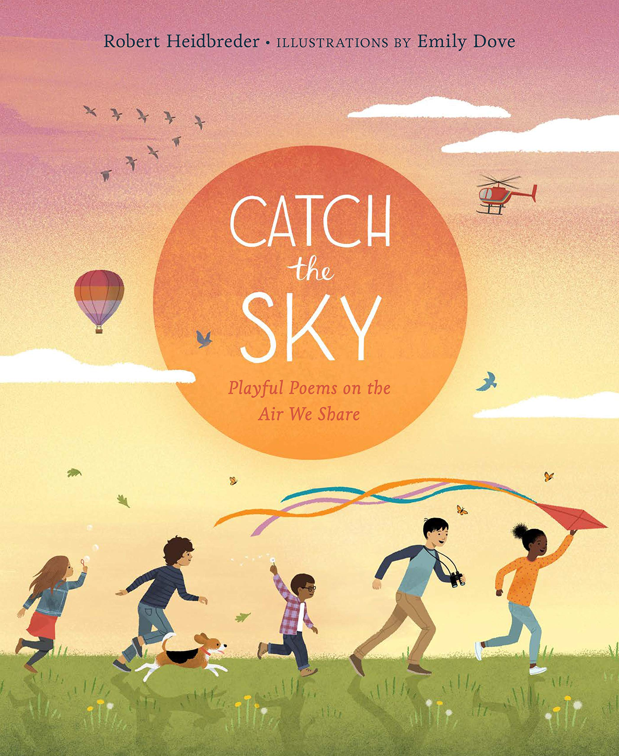 Catch the Sky: Playful Poems on the Air We Share: Heidbreder, Robert, Dove,  Emily: 9781771646314: Amazon.com: Books