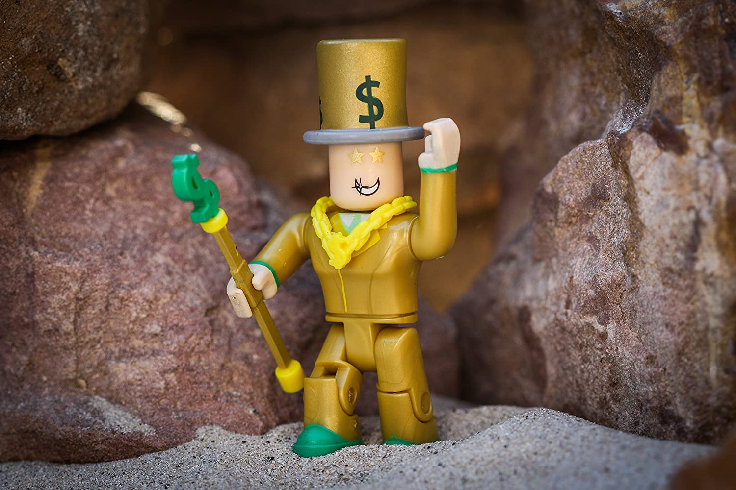 Mr Bling Bling Figure Pack NEW Roblox Action Collection