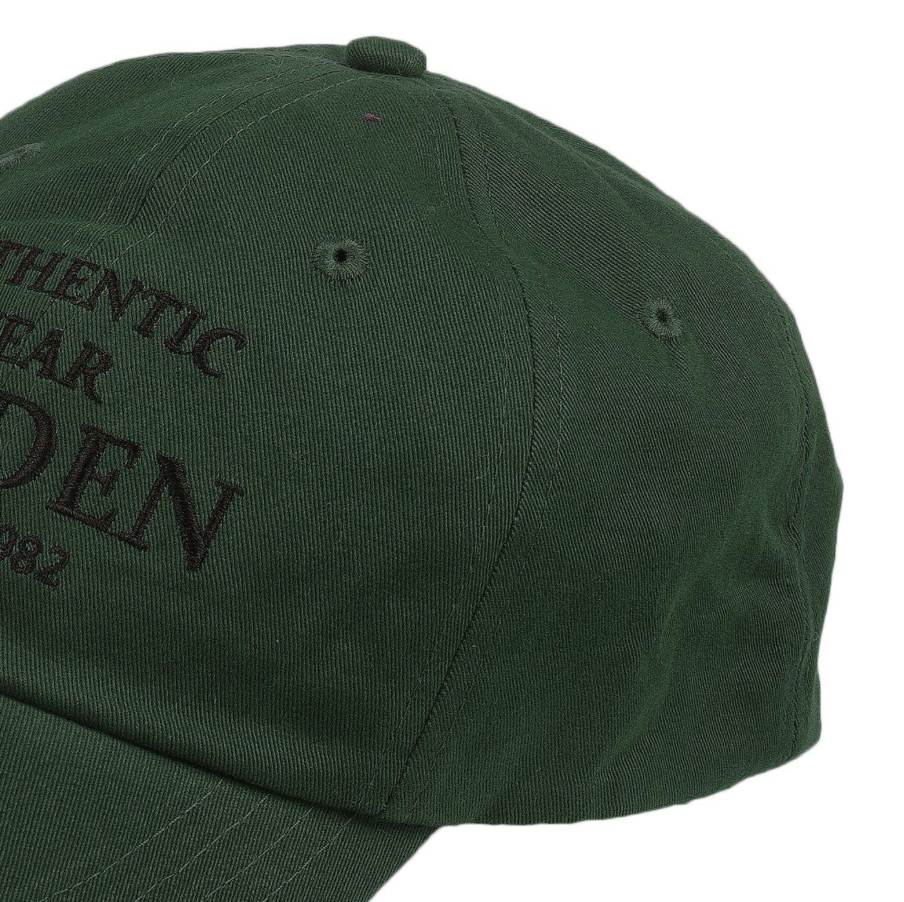 Eccellente Protezione dalle intemperie, Fladen Abbigliamento da Pesca 22-AW1833G 100/% Cotone Cappellino da Baseball con Visiera Parasole Colore: Verde
