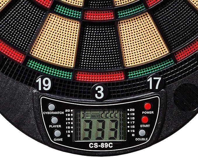 6 Pfeile Best Sporting 862086 elektrische Dartscheibe BRISTOL inkl
