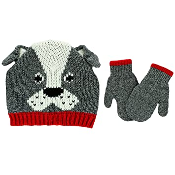 f28519c67d5 Image Unavailable. Image not available for. Color  Carter s Toddler Boys  Knit Winter Ski Beanie Hat and Mittens ...