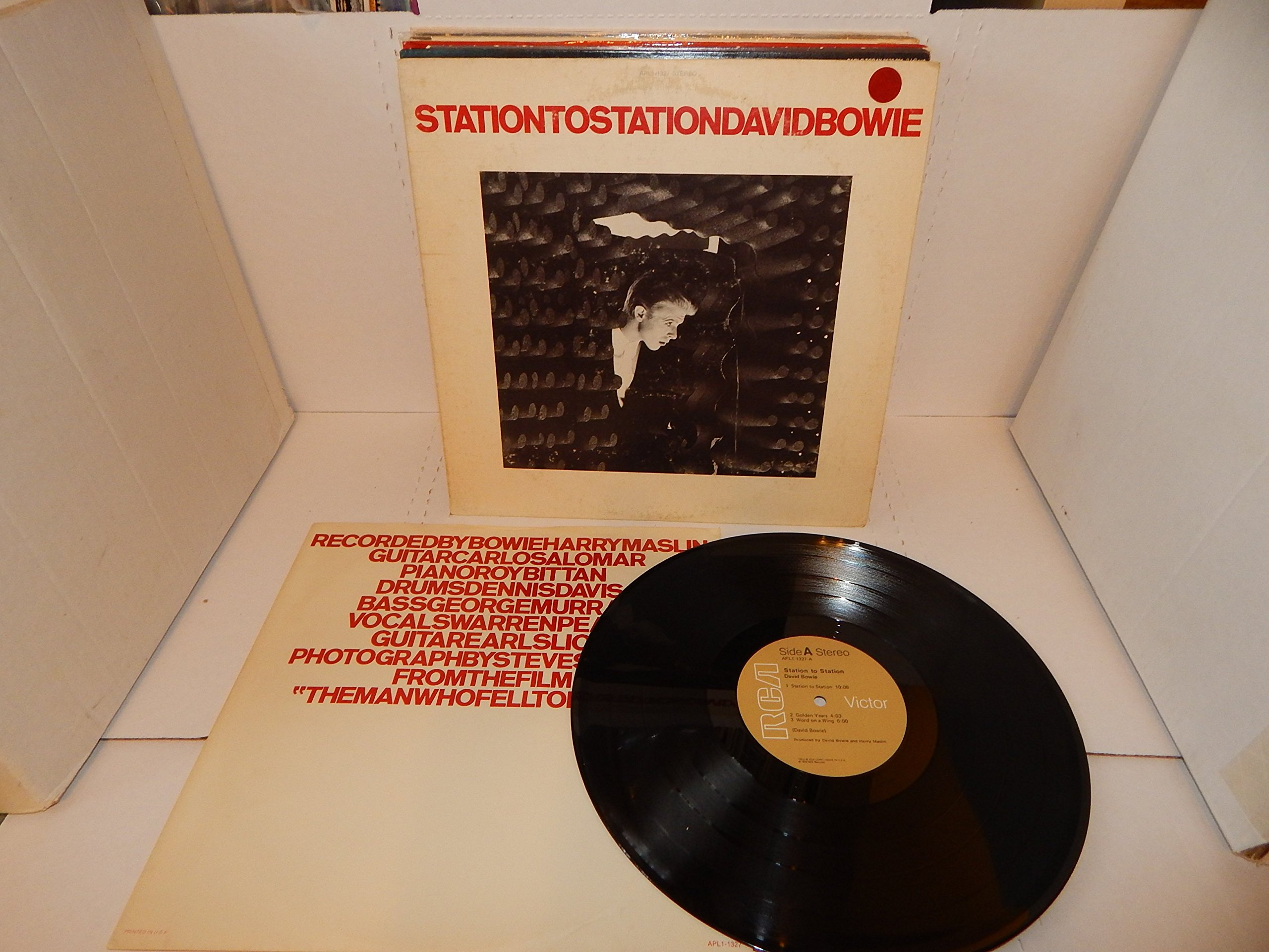 Station to Station (USA vinyl LP) by RCA