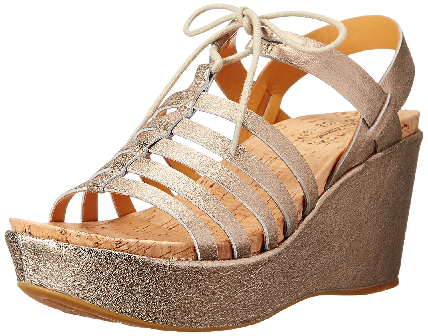 6944cee299 Amazon.com | Kork-Ease Women's Adel, Soft Gold 10 M | Sandals
