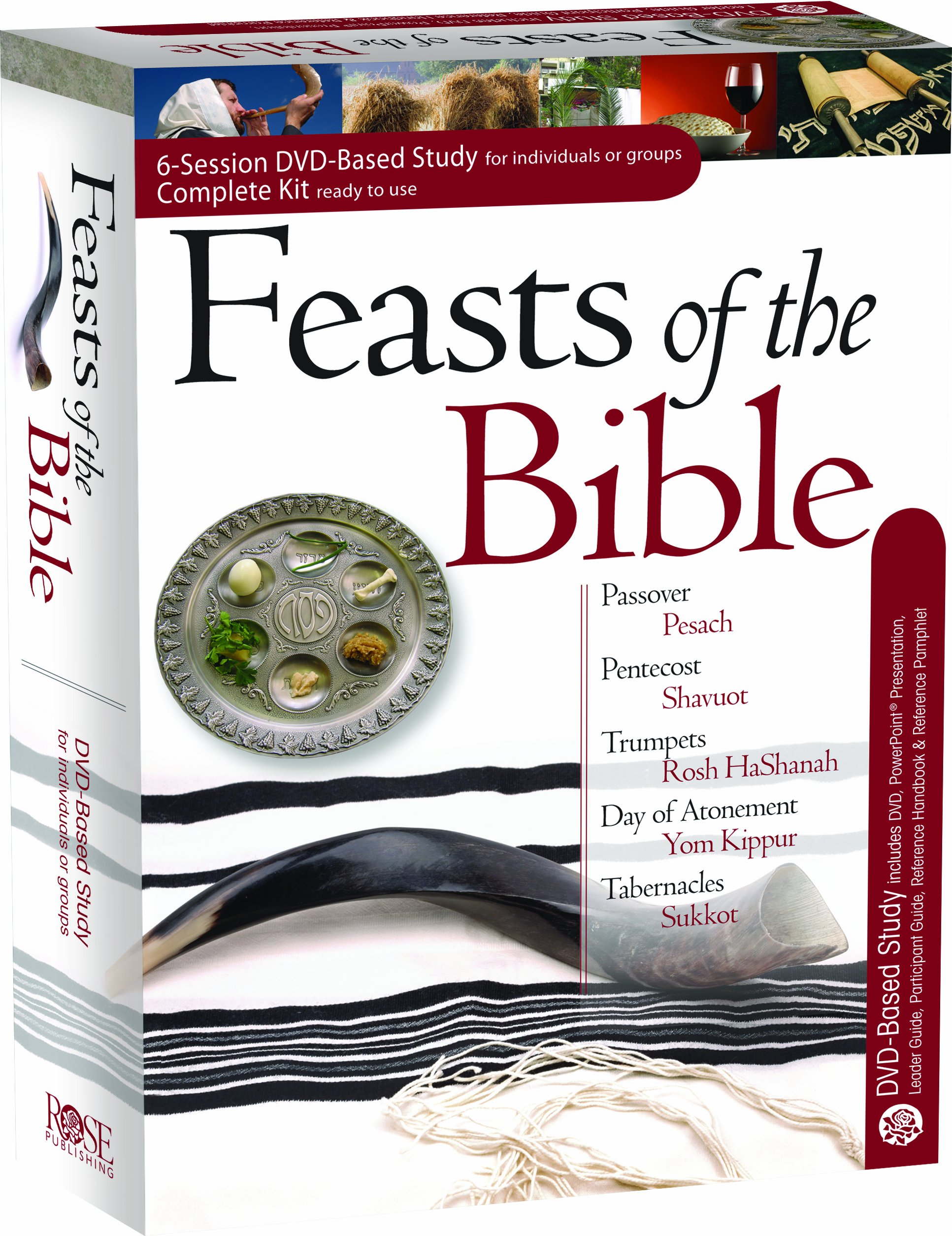 Complete Kit for the Feasts of the Bible 6-session DVD-based Study by Hendrickson Publishers