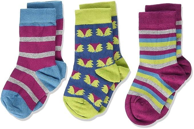 354e0f16d Kite 3 Pack Socks Foxy, Calcetines para Bebés, Multicolor, 2-3 Años:  Amazon.es: Ropa y accesorios