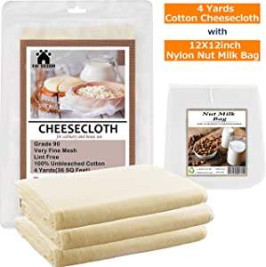 Sweepstakes: Ultra Fine Cheesecloth for Straining-with...