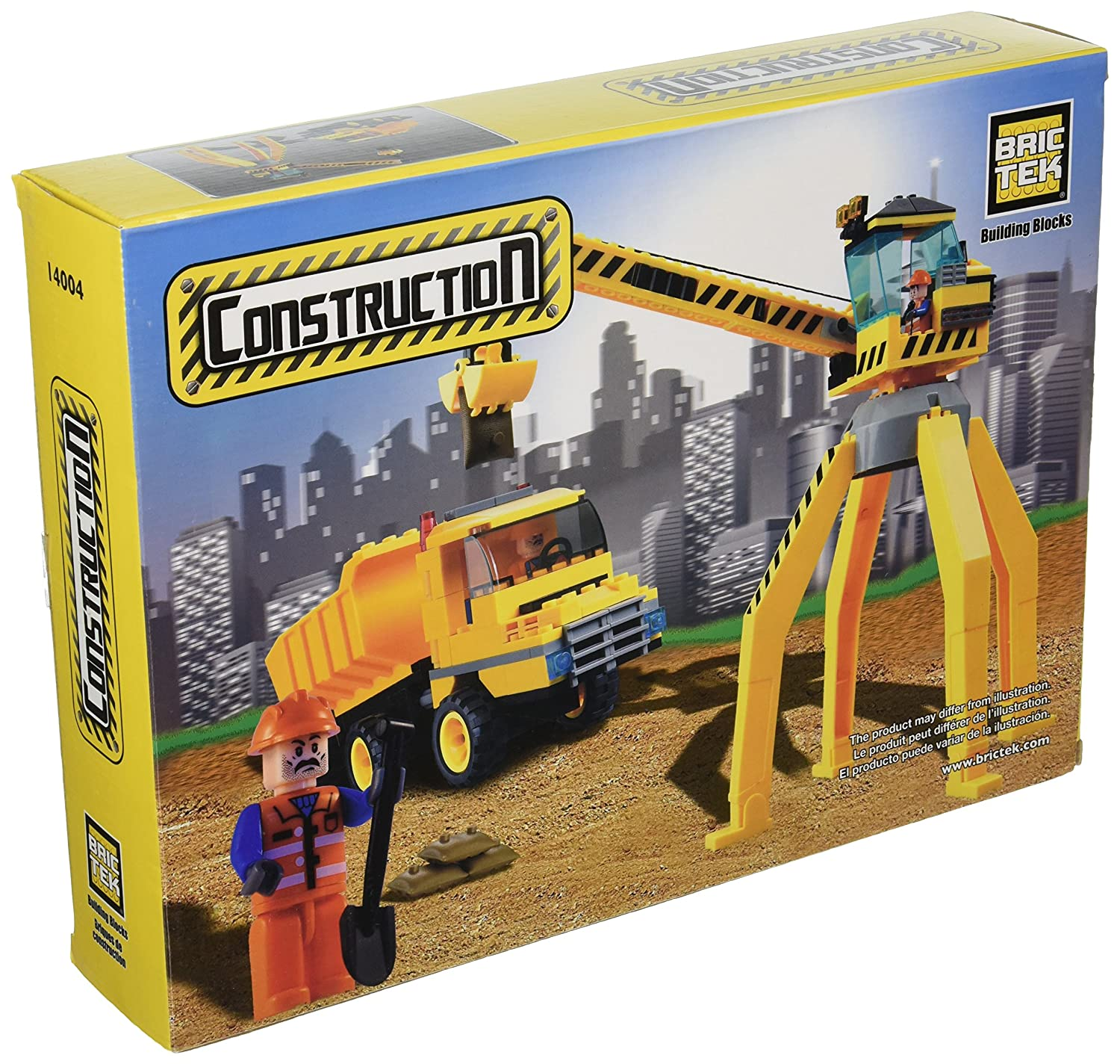 BRICTEK Crane with Truck Building Kit 14004