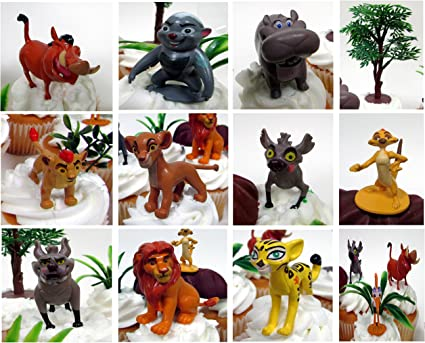 Amazon.com: Disney rey León Lion guard para pasteles de ...
