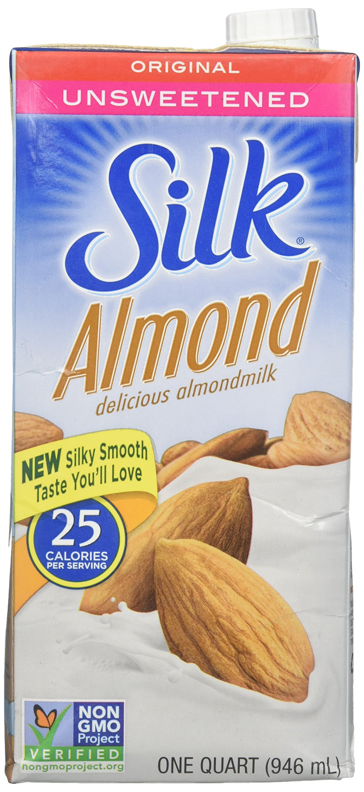 Silk Almond Almondmilk Unsweetened Original