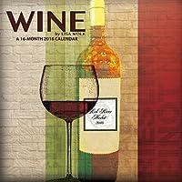 Wine – Lisa Wolk  2016 Wall Calendar