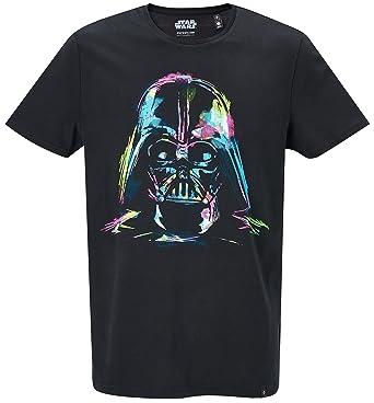1d0960812dce GOZOO Star Wars T-Shirt Herren Darth Vader Neon Sketch Art Schwarz   Amazon.de  Bekleidung