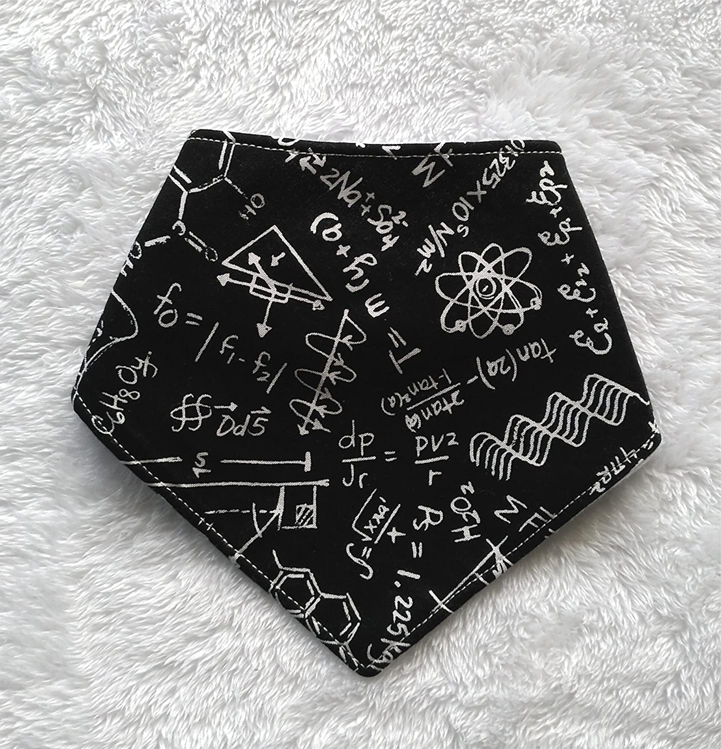 Maths & Science Bandana Bib