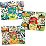 Melissa & Doug Reusable Sticker Pads Set: Jungle, Farm & Under the Sea