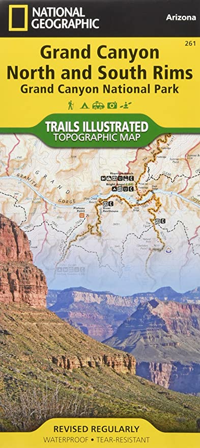 Amazon.com: Grand Canyon, North and South Rims [Grand Canyon ...