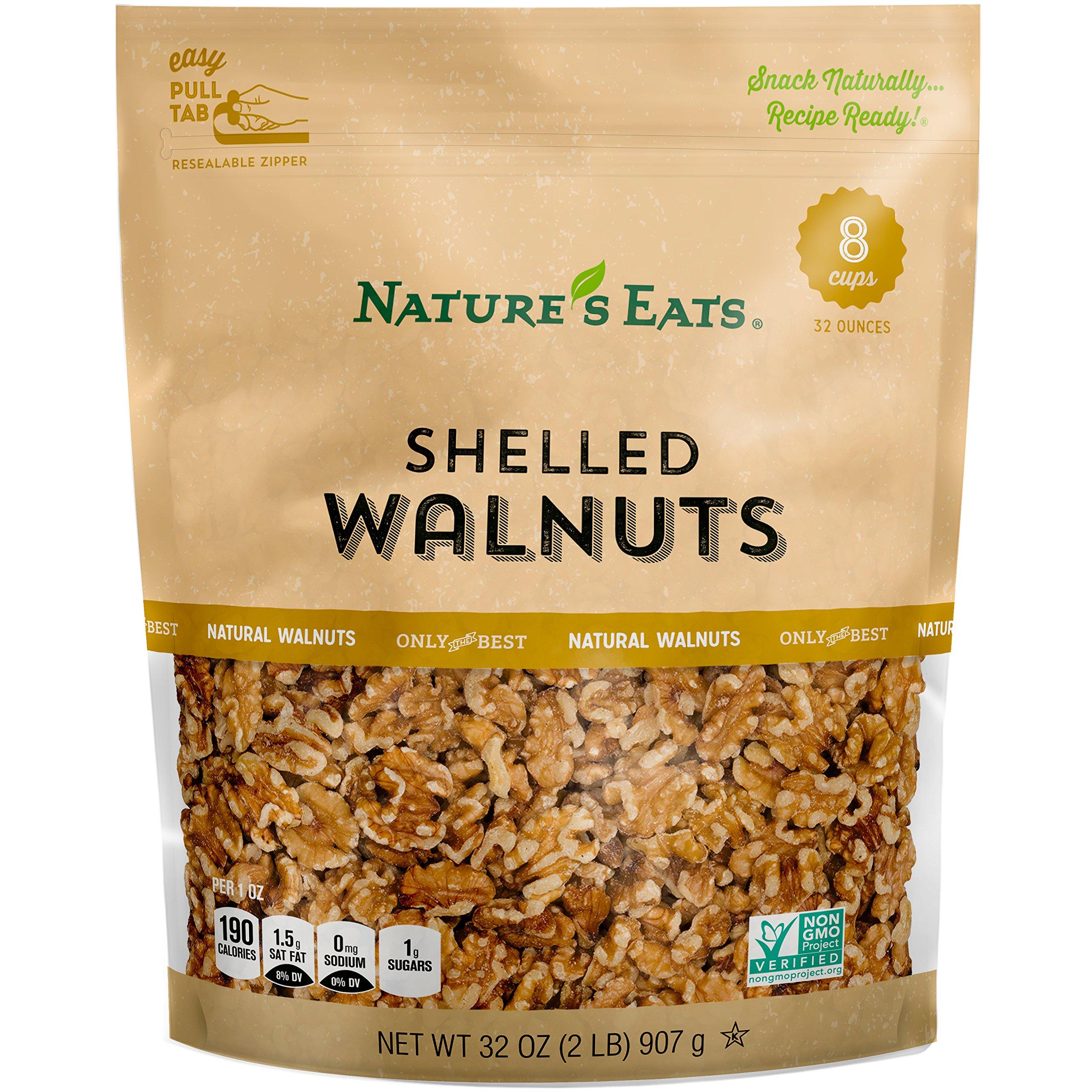 Nature's Eats Walnuts, 32 Ounce