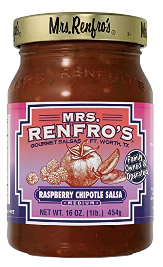 Mrs. Renfros Raspberry Chipotle Salsa (2 Pack)
