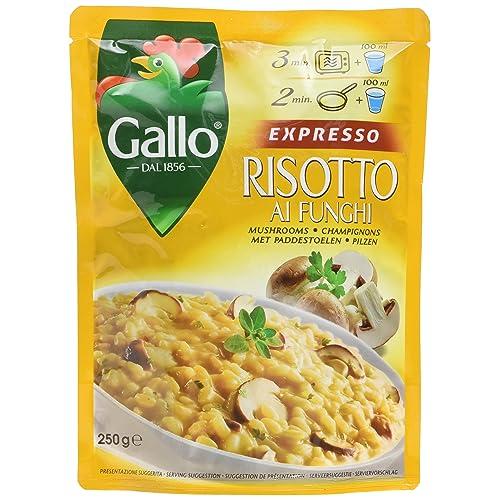 Riso Gallo Mushroom Expresso Risotto, 250 g, Pack of 6