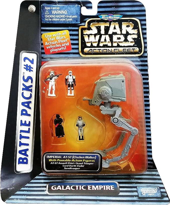 Star Wars Flota Accioen / micro-maquina Battle Pack # 2 Imperio ...