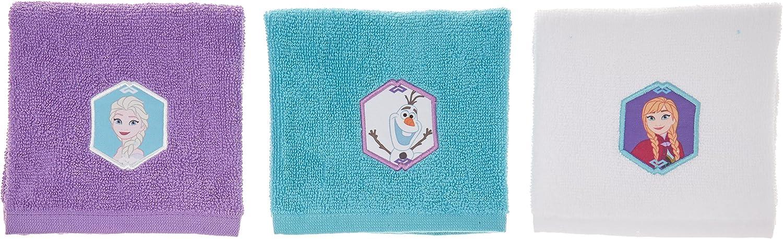 Disney Frozen Snowflake 6 Piece Wash Cloth